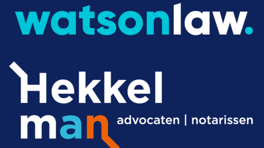 Watson Law and Hekkelman Advocaten: a powerful combination